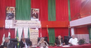 ملتقى عيون الأدب العربي- العيون الساقية الحمراء- المملكة المغربية : دور الثقافة في توحيد جهود التنمية بدول اتحاد المغرب العربي