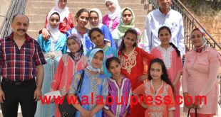 منشدات مدرسة مولاي يعقوب الإضافة النوعية التي ساهمت في نجاح الملتقى الأول للأنشودة التربوية بنيابة إقليم مولاي يعقوب