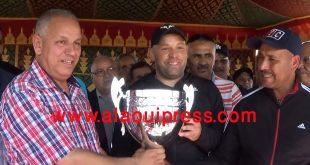 رشيد الفايق رئيس جماعة أولاد الطيب ينظم حفل إستقبال على شرف فريق الوفاء الرياضي الفاسي