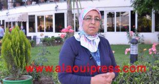 نُهاد الصافي رئيسة جمعية مستشارات جهة فاس مكناس
