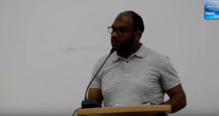 نقطة نظام تطورت إلى نقاش حاد بين العمدة الآزمي والمستشار عبد الواحد العواجي