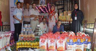 جمعية شعلة الأمل للتنمية الإجتماعية والتضامن تنظم عملية توزيع قفة رمضان على الفئات الهشة