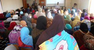 نجاح اليوم التحسيسي حول سرطان الثدي بإقليم ميدلت : نجاح للمقاربة التشاركية بين المجتمع المدني ومندوبية الصحة