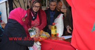 جمعية شعلة الأمل للتنمية الإجتماعية والتضامن توزع بعض المساعدات على الأسر المعوزة احتفاء بعودة المغرب إلى الإتحاد الإفريقي