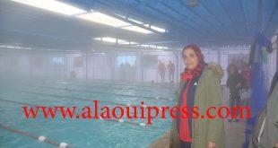 خديجة الحوات ومحمد الإدريسي يترأسان الافتتاح الرسمي للمسبح المغطى بنادي عين الشقف للفروسية