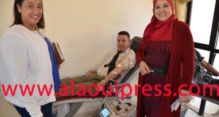 جمعية الوئام للأعمال الإجتماعية لموظفي وأعوان عمالة اقليم مولاي يعقوب وثقافة التبرع بالدم