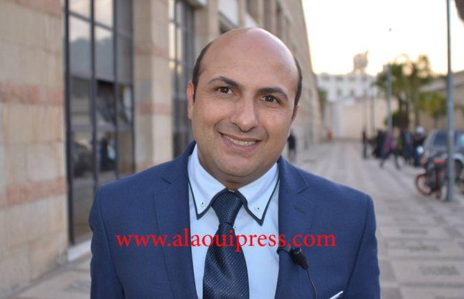 """المحامي ذ غسان باحو أمرسال : كل شيء بفضل المال يهون ،هكذا همة المفسدين تكون """"شكرا ولد الفشوش"""""""