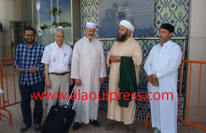 شيخ الطريقة المحمدية بأنجلترا سيدي أحمد الدباغ يحل بمدينة فاس للمشاركة في المؤتمر العالمي للتصوف