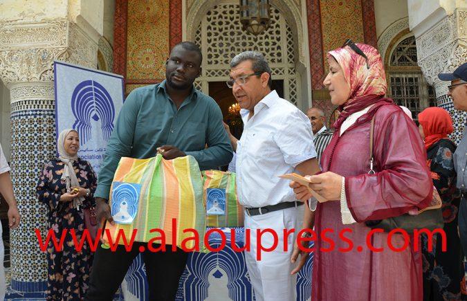 جمعية فاس سايس تصنع الحدث الإنساني التضامني الخلاق أواخر شهر رمضان