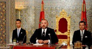 النص الكامل للخطاب الملكي السامي بمناسبة الذكرى 18 لعيد العرش المجيد