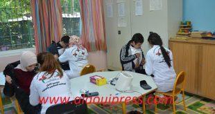 القافلة الطبية لجمعية الأمل لمرضى السكري تحط رحالها بمؤسسة الأمير مولاي عبد الله للأطفال ذوي الإحتياجات الخاصة بفاس