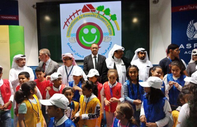 محمد الحجاجي رئيس الوفد المغربي بمخيم البواسل العالمي لأطفال السكري بالدوحة عزم كبير على ترسيخ الدبلوماسية الموازية