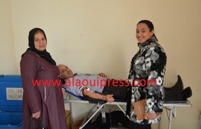 أسماء المنصوري : هدفنا تقريب الخدمات الطبية من منخرطي جمعية الوئام للأعمال الإجتماعية وتحسيسهم بأهمية التبرع بالدم