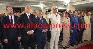 مراسيم حفل الإستماع إلى خطاب العرش بمقر ولاية جهة فاس مكناس