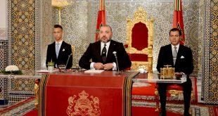 جلالة الملك محمد السادس حفظه الله ورعاه يوجه خطابا ساميا إلى الشعب المغربي بمناسبة ثورة الملك والشعب