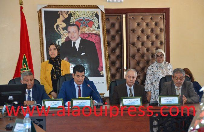 مدير الموارد البشرية بوزارة الصحة يشرف على مراسيم إعادة تنصيب الدكتور المهدي البلوطي مديرا جهويا للصحة لجهة فاس مكناس