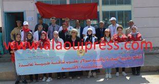 مندوبية وزارة الصحة بإقليم مولاي يعقوب تخلق الحدث الطبي بدوار أولاد بوزيان جماعة أولاد ميمون