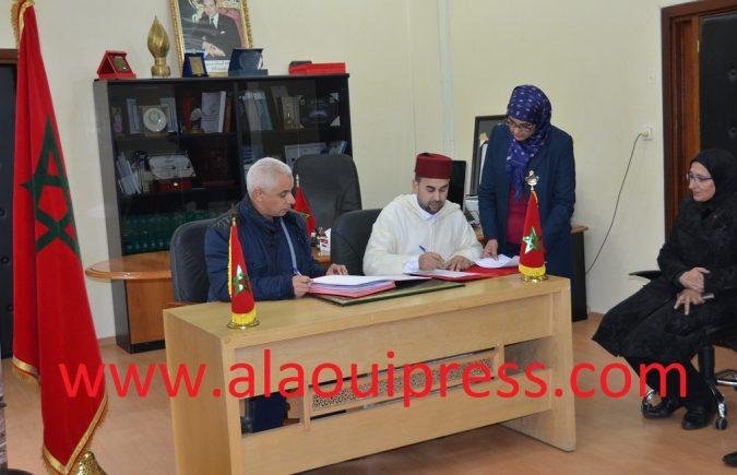 التوقيع على 5 إتقاقيات بين مجلس عمالة فاس وإدارة CHU Fes قيمتها الإجمالية بلغت نصف مليار سنتيم