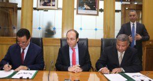 المدير الجهوي للصحة لجهة فاس مكناس الدكتور المهدي البلوطي يوقع على عقود برامج وزارة الصحةخُطَط العمل الثلاثية 2019-2021