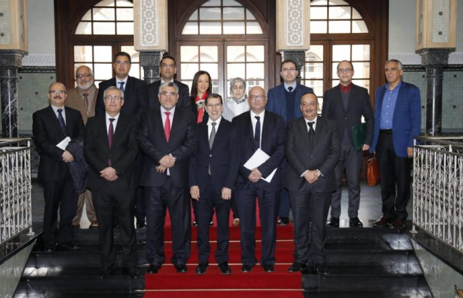 إستقبال خاص لأعضاء لجنة الحق في الحصول على المعلومات بمقر رئاسة الحكومة