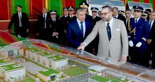 الملك محمد السادس حفظه الله يعطي انطلاقة أشغال إنجاز المقر الجديد للمديرية العامة للأمن الوطني بالرباط
