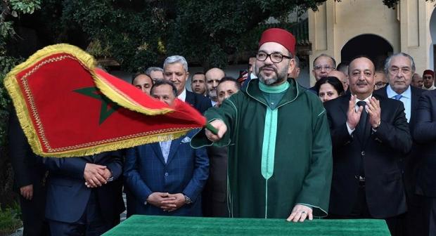 جلالة الملك محمد السادس نصره الله يقوم بزيارة مجموعة من المشاريع المنجزة في إطار برامج إعادة تأهيل وتثمين المدينة العتيقة لفاس