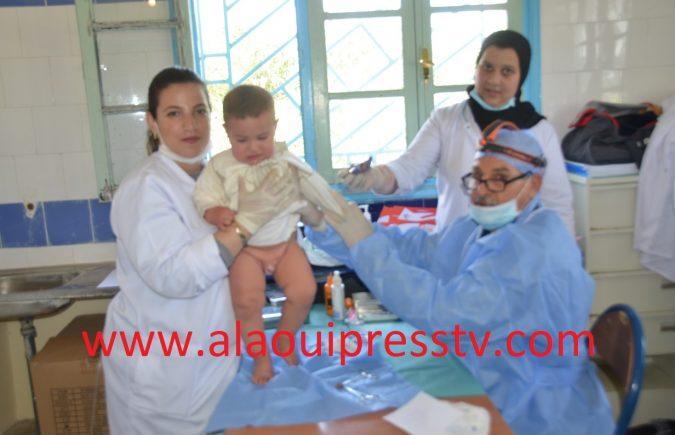 جماعة أوطابوعبان تصنع الحدث الطبي نهاية الأسبوع : عملية ختان جماعي للأطفال وقافلة طبية متعددة الإختصاصات لفائدة ساكنتها