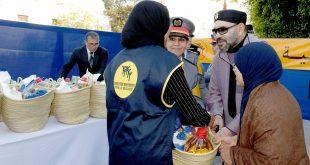 جلالة الملك محمد السادس حفظه الله يعطي بالرباط انطلاقة النسخة 20 من العملية الوطنية للدعم الغذائي رمضان 1440