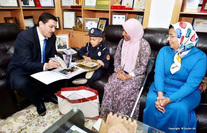 البعد الإنساني للمديرية العامة للأمن الوطني المستنبط من الرعاية المولوية الموصولة للأطفال في وضعية إعاقة