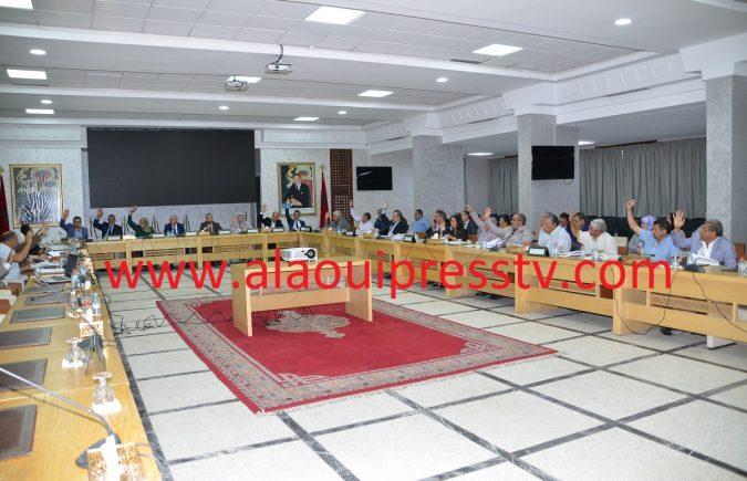 أعضاء مجلس عمالة فاس يصادقون بالإجماع على النقط المدرجة في جدول أعمال الدورة العادية لشهر 2019