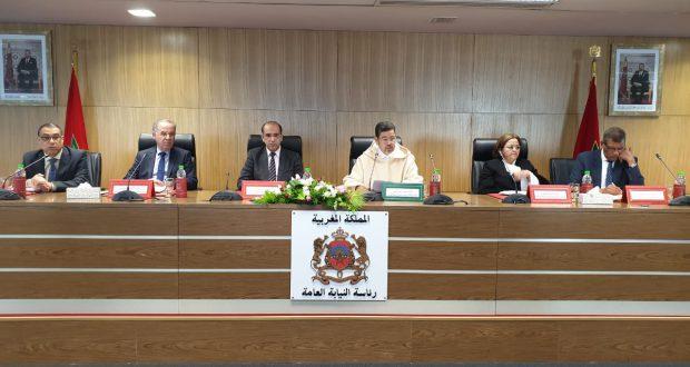 """رئيس النيابة العامة السيد محمد عبد النباوي يدعو الوكلاء العامين للملك ووكلاء الملك لدى مختلف المحاكم إلى ترسيخ صورة """" نيابة عامة مواطنة """""""