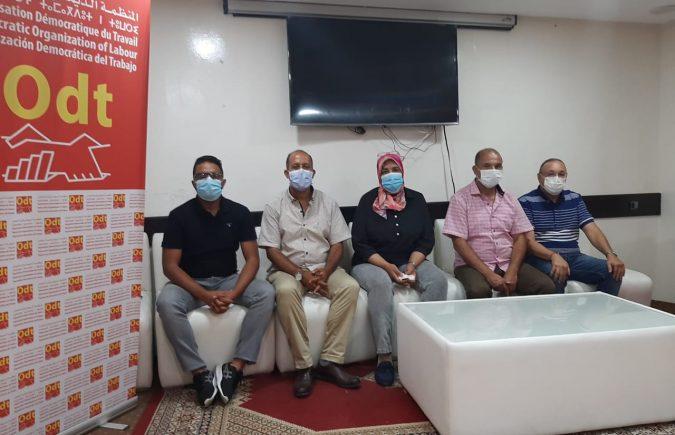 إنتخاب أول مكتب وطني لمهنيي قطاع المستلزمات الطبية بالمغرب تحت لواء المنظمة الديمقراطية للشغل