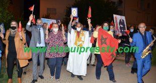 الحزب المغربي الحر بفاس يصنع الحدث السياسي البارز ليلة الذكرى 45 للمسيرة الخضراء المظفرة