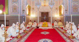 أمير المؤمنين صاحب الجلالة الملك محمد السادس حفظه الله ورعاه يحيي ليلة المولد النبوي الشريف