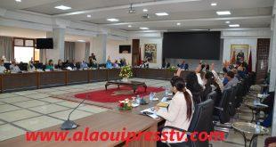 أعضاء مجلس عمالة فاس برئاسة جواد الفايق يصادقون بالإجماع على النظام الداخلي لمجلس العمالة
