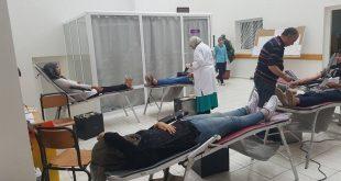 انخراط نزيلات إقامة الطالبة بفاس في حملة التبرع بالدم تقديسا من طرفهن للواجب الوطني
