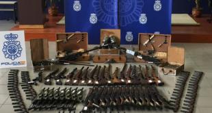تفكيك خلية تزود العصابات الإجرامية والمجموعات الإرهابية بالأسلحة النارية في السوق السوداء الإسبانية