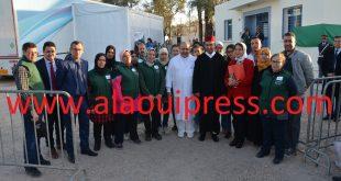 عامل إقليم تازة مصطفى المَعَزَّة يتفقد خدمات القافلة الطبية متعددة الإختصاصات بالمركز الصحي الحضري تاهلة